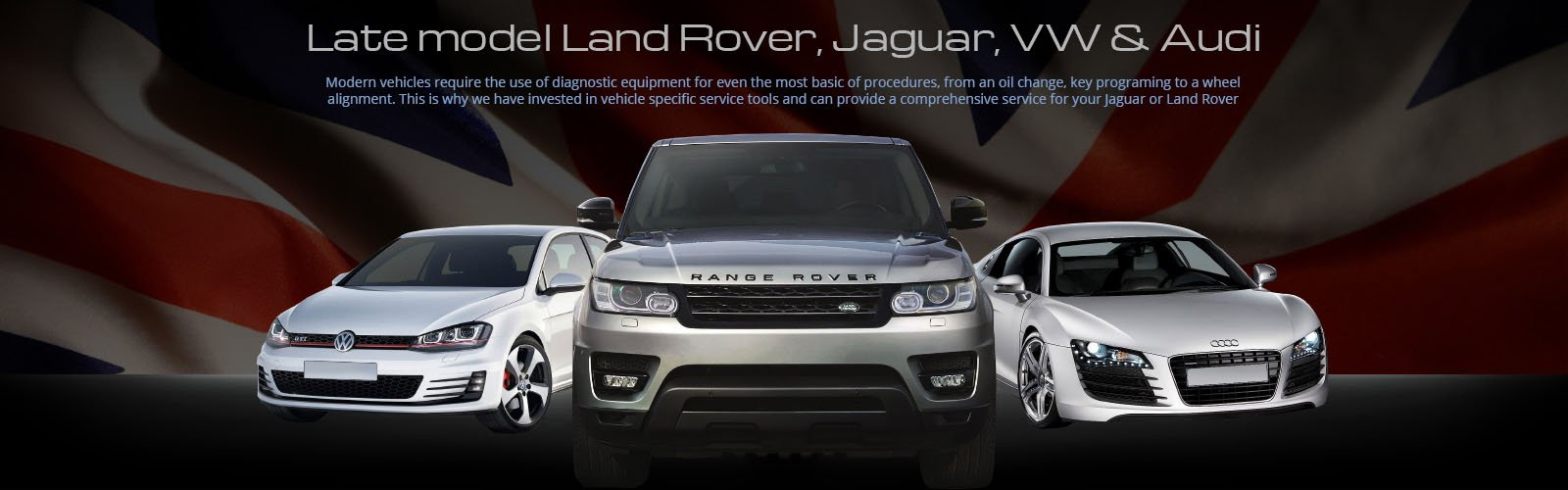 Land Rover, Jaguar, Audi and VW servicing Adelaide